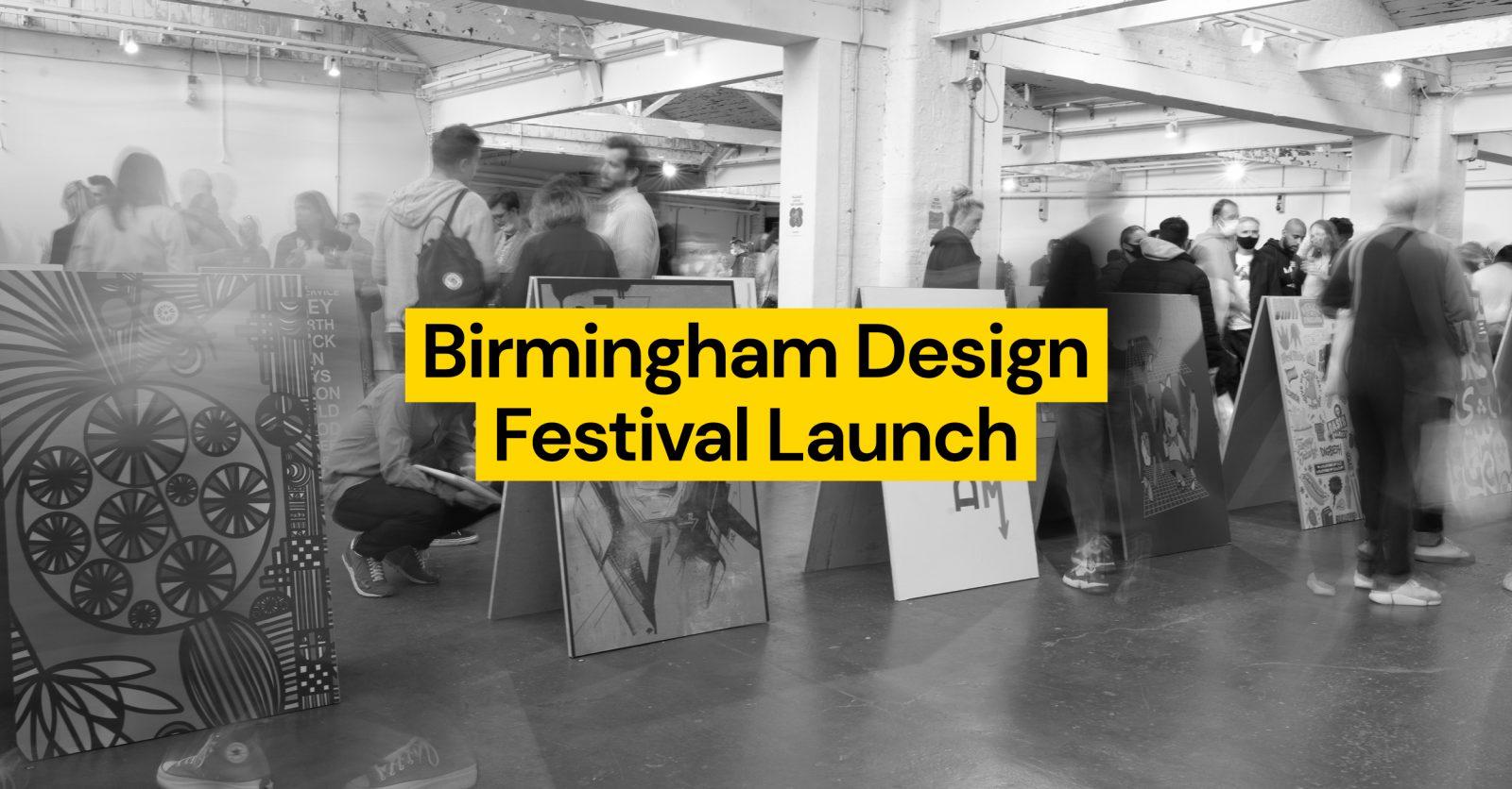 Birmingham Design Festival Launch